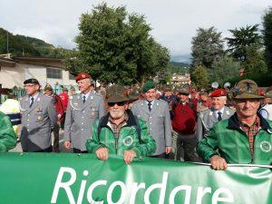 Die Teilnahme am Umzug mit den Freunden aus Arco beim großen Alpinitreffen war besonders beeidruckend. (Bild von privat)