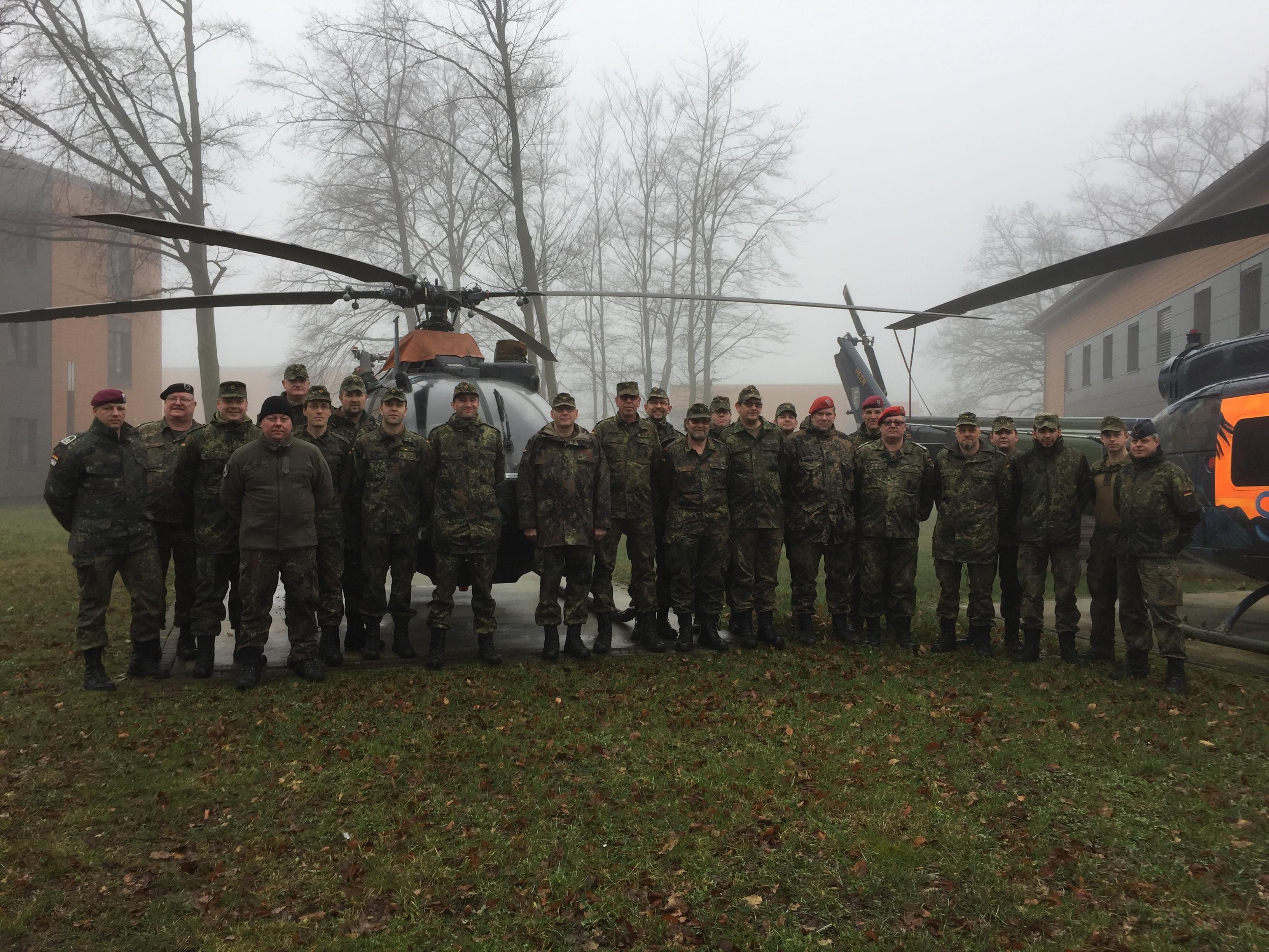 Teilnehmer Ausbildung Bediener AGSHP am 27.Januar 2018