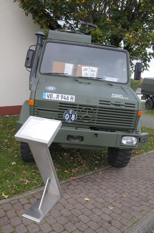 Bundeswehrfahrfahrzeug privat