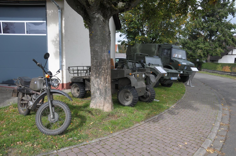 Bundeswehrfahrfahrzeuge privat